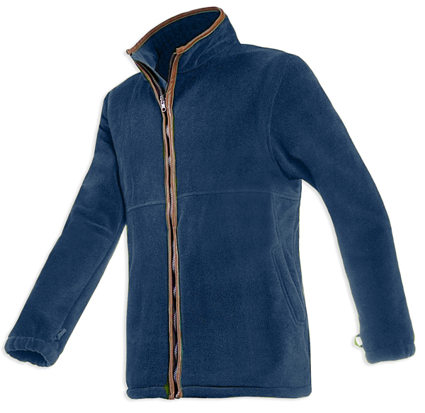 Baleno Henry Fleece Jacket - Navy Blue