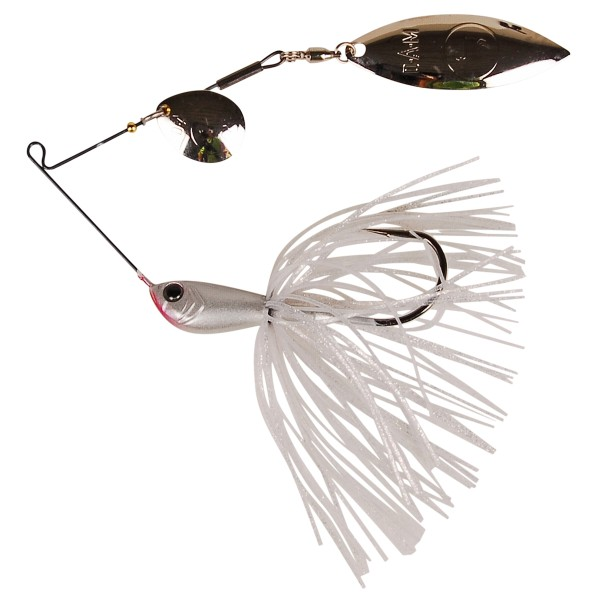 DAM Effzett Vitanium Spinnerbait (6 options) - White Knight