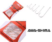 Image of 5 Packs of Awa Shima Keyrin Flatfish Hooks (5 sizes)