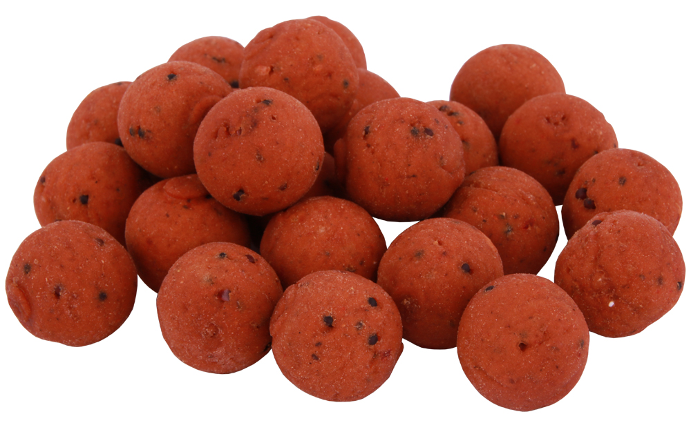 Eddy Sterckx Red Angel Mulberry Pack with boilies, pop-ups and liquid