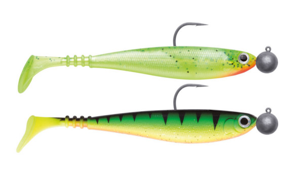 Jackson Zanderbait Rigged 14 cm 14 g 2 pcs (multiple options) - Mix Pack Colored Water