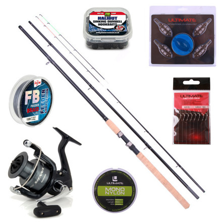 Method Feeder Set with Ultimate rod, Shimano reel and accessories