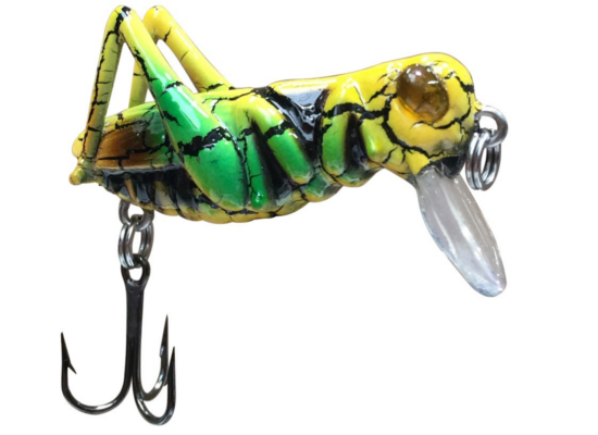 Jenzi Insect Wobbler 'G-Hope' (3 options) - Jenzi Insect Wobbler 'G-Hope'  Green/Yellow
