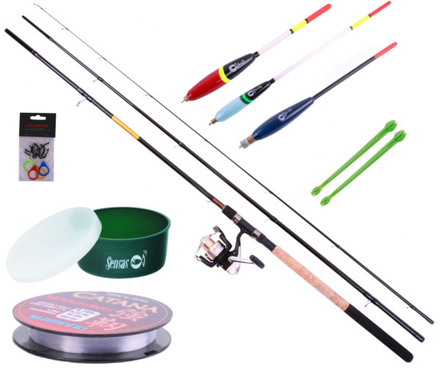 Match Set with Sensas rod, Shimano reel and different accessories!
