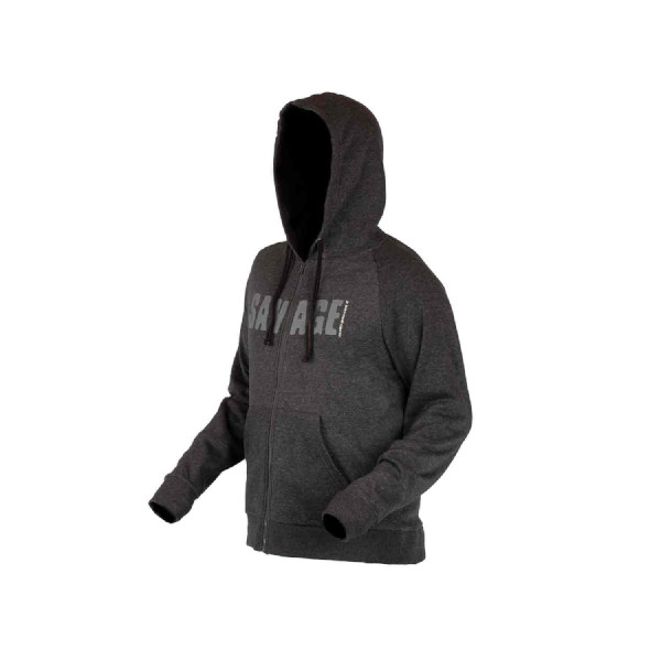 Savage Gear Simply Savage Zip Hoodie (available in size S - XXL)