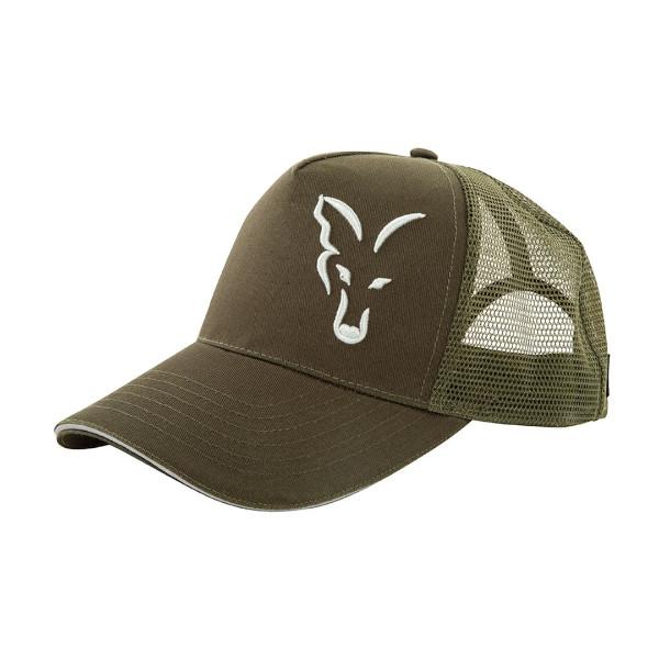9409003d0 Fox Green-Silver Trucker Cap