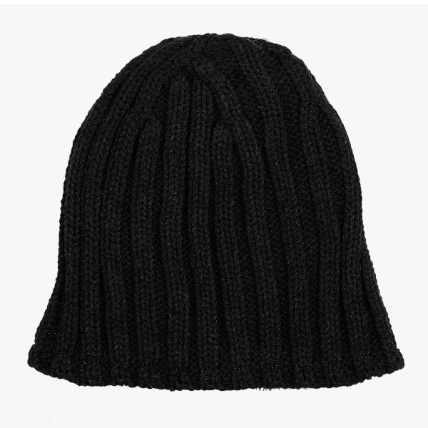Beanie Heavy Knit (multiple options) - Black