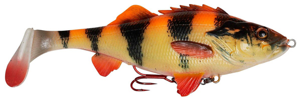 Savage Gear 4D Perch Shad 12.5 cm (multiple options) - Albino