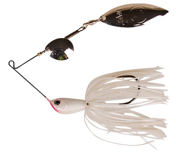 DAM Effzett Vitanium Spinnerbait (6 options) - White