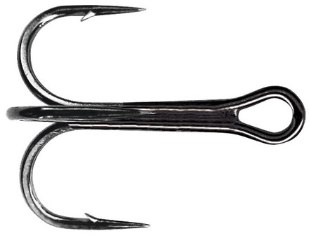 Mustad Ultra Point Round Bend Trebles (size 1 - 3/0)