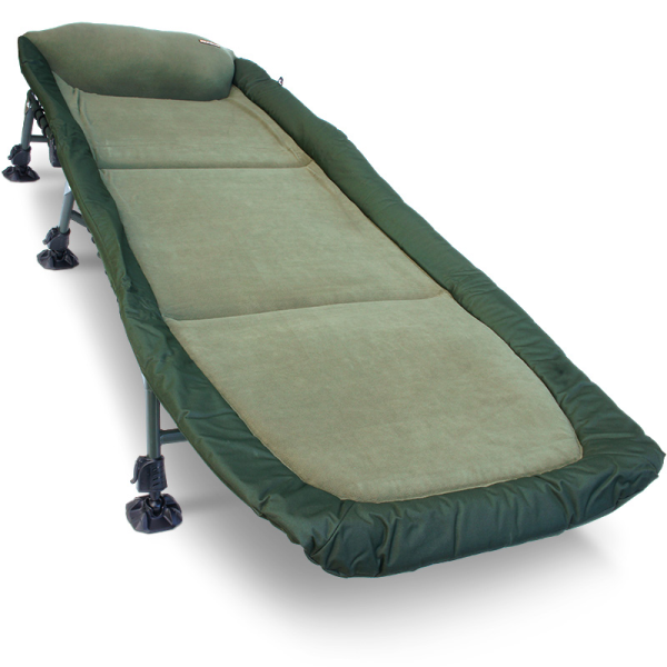 NGT Classic Bedchair with Recliner, with Micro Fleece