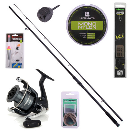 Carp & Predator Stalker Set including rod, reel and accessories