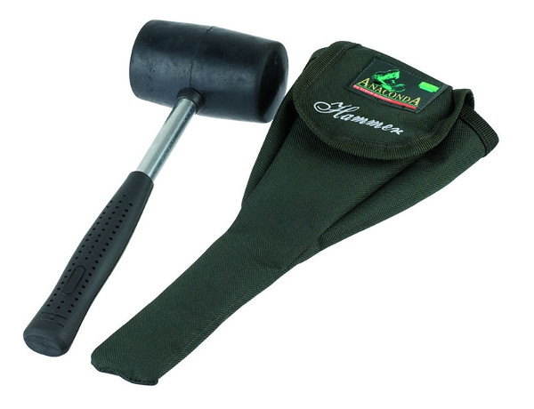Anaconda Rubber Mallet, easily place your pegs in hard surfaces