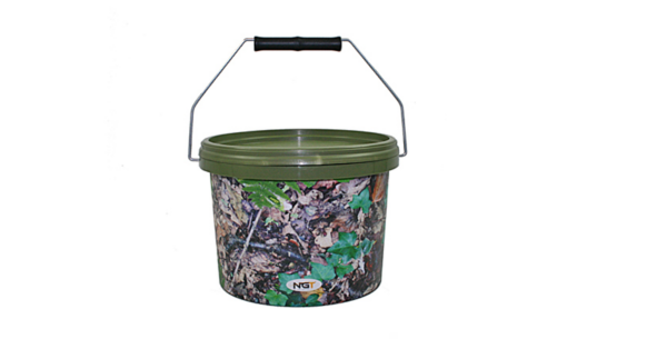 NGT Round Camo Buckets (3 options) - 3 L