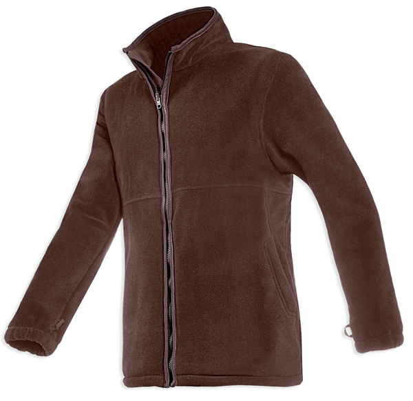 Baleno Henry Fleece Jacket - Chocolate