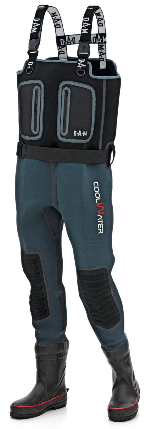 DAM Coolwater Waders, 5 mm neoprene! (available in all sizes)