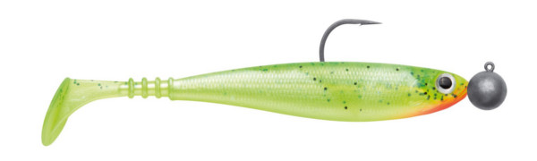 Jackson Zanderbait Rigged 14 cm 14 g 2 pcs (multiple options) - Hot Chartreuse