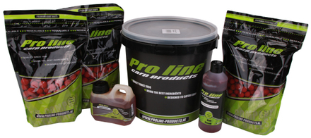 WOW! Pro-Line Hi-Instant Fish&Krill Package with boilies, bait steam, complex fish oil and a bucket!