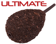Image of 10 x Ultimate Camo Lead Flat Pear Inline in 56 up to 140 g (available in 4 colours)