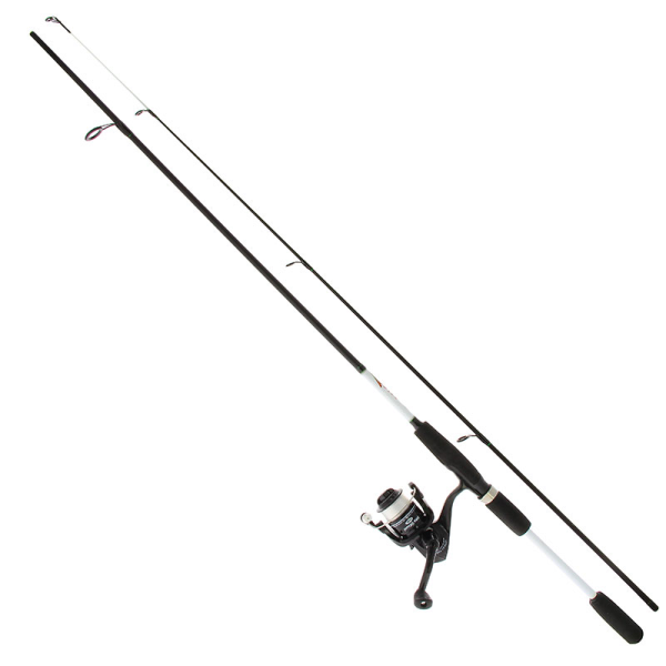 NGT Drop Shot Combo including rod, spinning reel, line, drop shot rigs, lead and soft baits