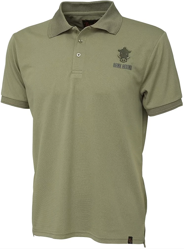 Prologic Bank Bound Polo Green (available in M - XXL)