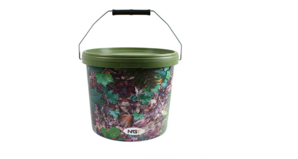 NGT Round Camo Buckets (3 options) - 5 L