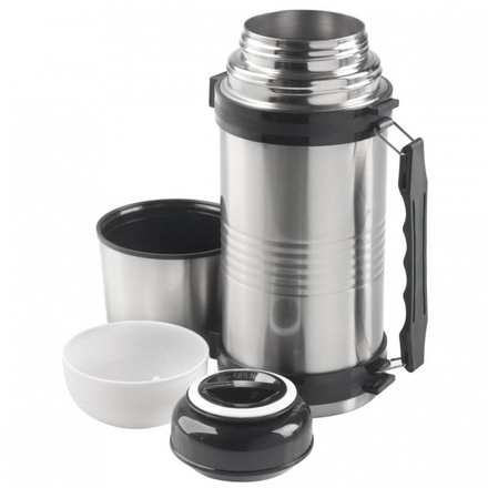 MacGyver Vacuum Flask double walled stainless steel