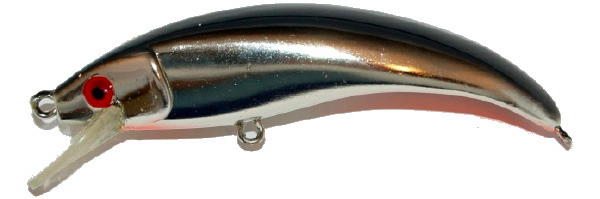 Big Pike Lure Pack - Spigg Baits Big Spigg, Black Chrome