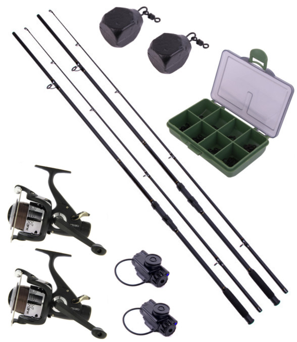 Ultimate 2-Rod Stalker Set including end tackle