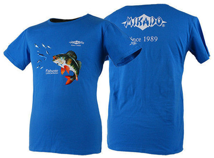 Mikado T-shirt Perch Blue (available in different sizes)