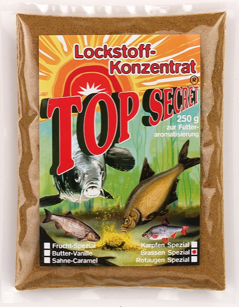 Top Secret Groundbait Concentrate 250 g (9 options) - Top Secret Concentrated Attractant 250g - Bream Special: